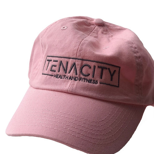 Pretty in pink dad hat