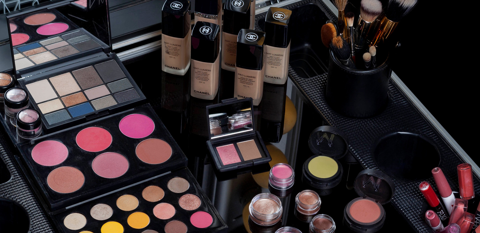 Variedad de productos y colores