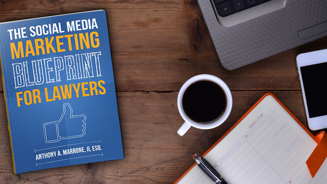 On Writing The Social Media Marketing Blueprint for Lawyers