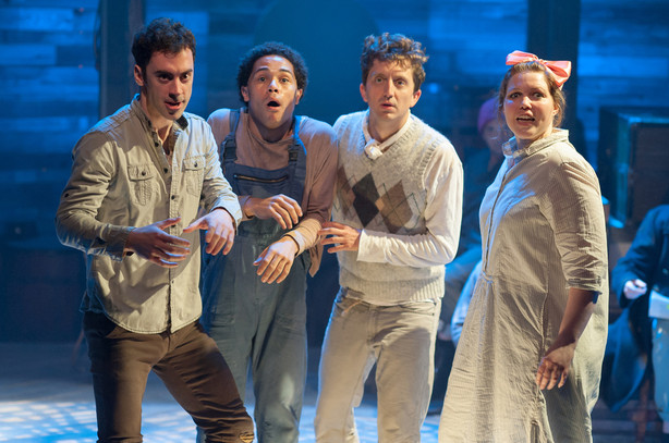 Peter and the Starcatcher by Rick Elis