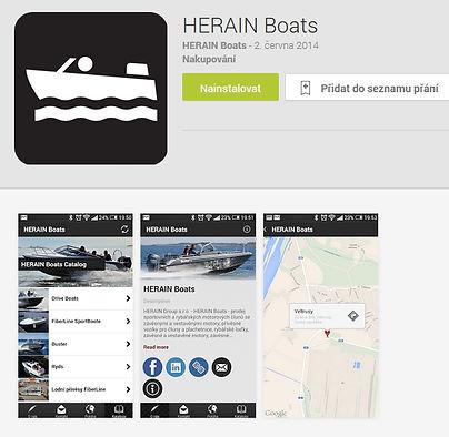 sportovní čluny HERAINBOATS
