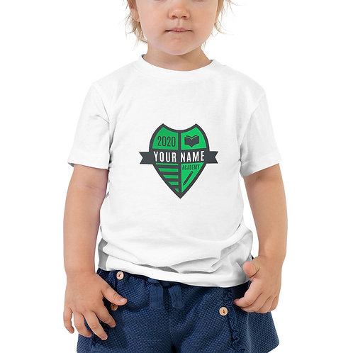 Toddler Green Crest Short Sleeve Tee