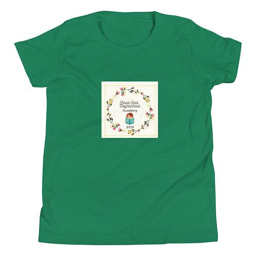 """Wreath"" Youth Short Sleeve T-Shirt"