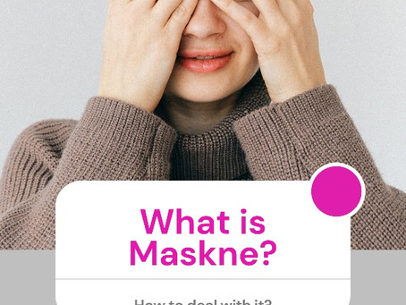 What is Maskne and How Can You Solve This New Skin Problem