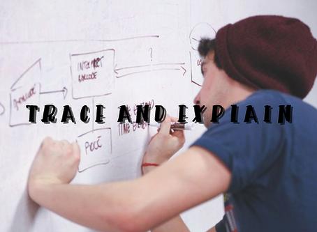 【考試】追溯並解釋(Trace and explain)