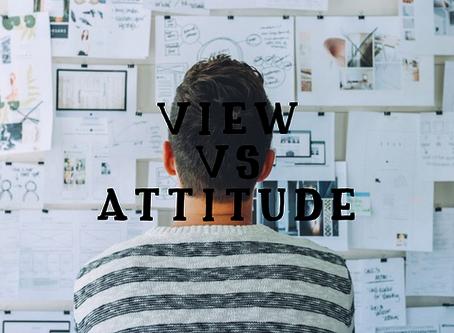 【考試】View? Attitude?