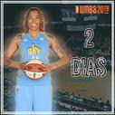 Instagram feed countdown to the WNBA season