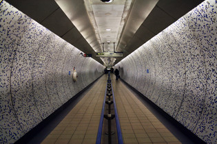 green park station - london