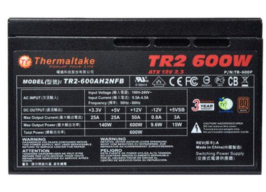 True Power Thermaltake 600W
