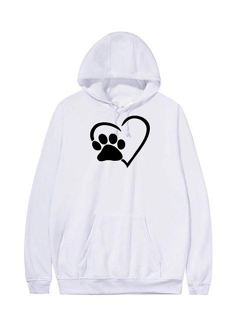 White Hoody Plus Sizes 16-34