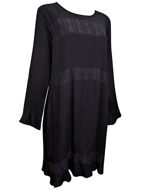 Black lace dress Plus Size 16/18 20/22 24/26  [380]