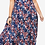 Thumbnail: Woman within Blue floral crinkle dress Plus size 34/36 38/40