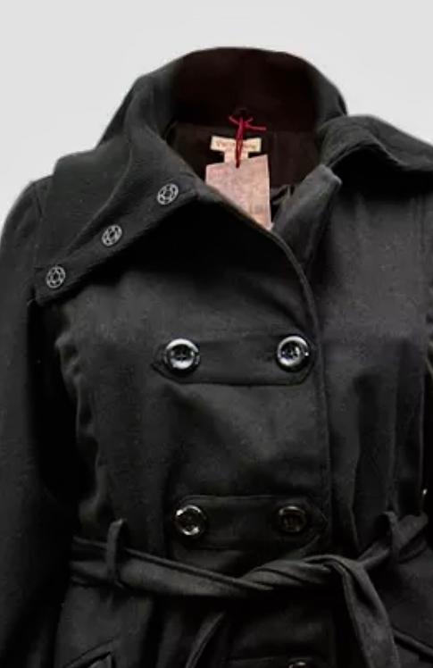Plus size 18/20 Black Jacket Wool Mix Coat