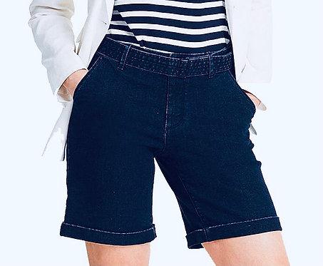 Indigo Blue Denim shorts size 14, 16, 18, 20, 22, 24 Comfort Stretch [485]
