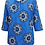 Thumbnail: Ulla Popken Blue kaleidoscope print top Plus size 20/22 24/26 Tunic [261]