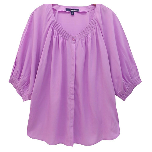 Lilac blouse plus size 24,26,28,30,32 Roamans [274]