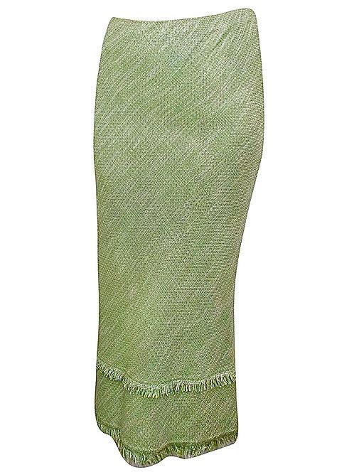 Ex Evans Textured Maxi Skirt Tassel Fringe Plus sizes 18 20 22 24 26 28 30 32