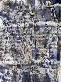 Smock work and batik dye