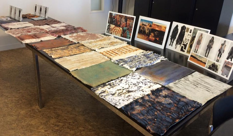 Presentation fabric design