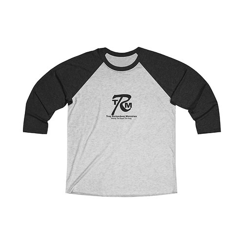 Unisex Tri-Blend 3/4 Raglan Tee includes tax and shipping