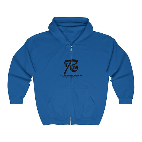 Unisex Heavy Blend™ Full Zip Hooded Sweatshirt includes tax and shipping