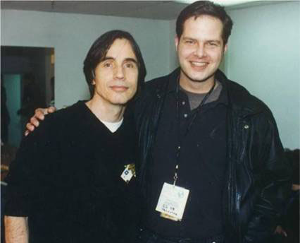 Jackson Browne and Rob Buswell