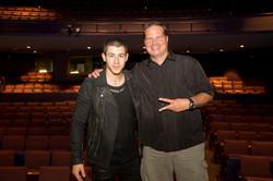 Nick Jonas and Rob Buswell