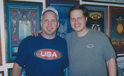 Garth Brooks and Rob Buswell