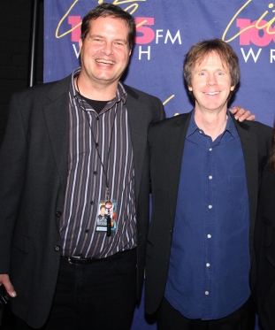 Rob Buswell and Dana Carvey