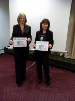 Dr. Blanka and Dr. Pavlina