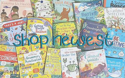 New Usborne Books & More books