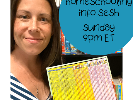 Starting Homeschooling with Usborne Books & More