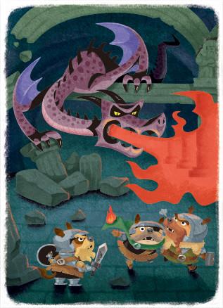 ドラゴンとダンジョン