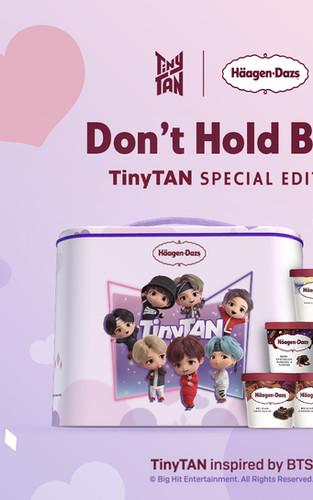 Haagen-Dazs X BTS TinyTAN
