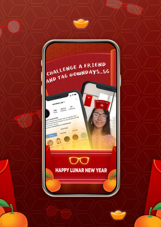 Owndays Lunar New Year Game Filter