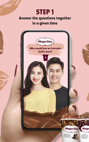 Haagen-Dazs Chocolate Kisses Game Filter