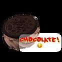 Oreo Wafer with Chocolate Custard