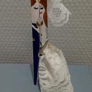 Mariés pince à linge