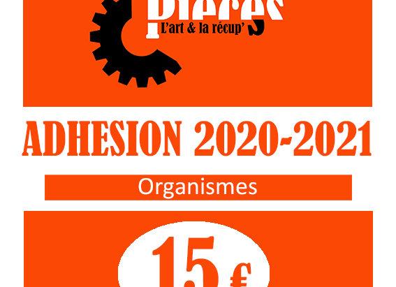 Adhésion Organismes 2020-2021