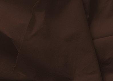 "Coton ""brun chocolat"" - 113 cm de large"