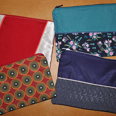 Quatre pochettes