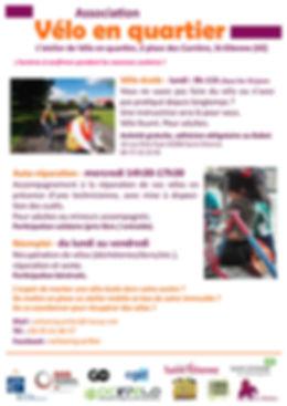 Vélo en Quartier : vélo-école pour adultes
