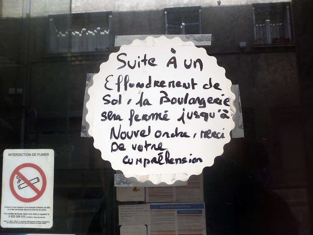 Rue Beaubrun - Suite à un effondrement - François Maguin