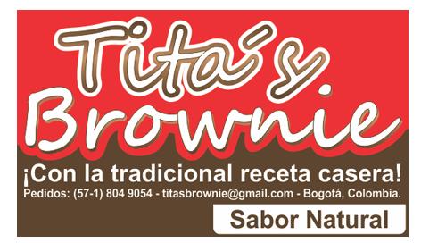 Logotipo Titas Brownie