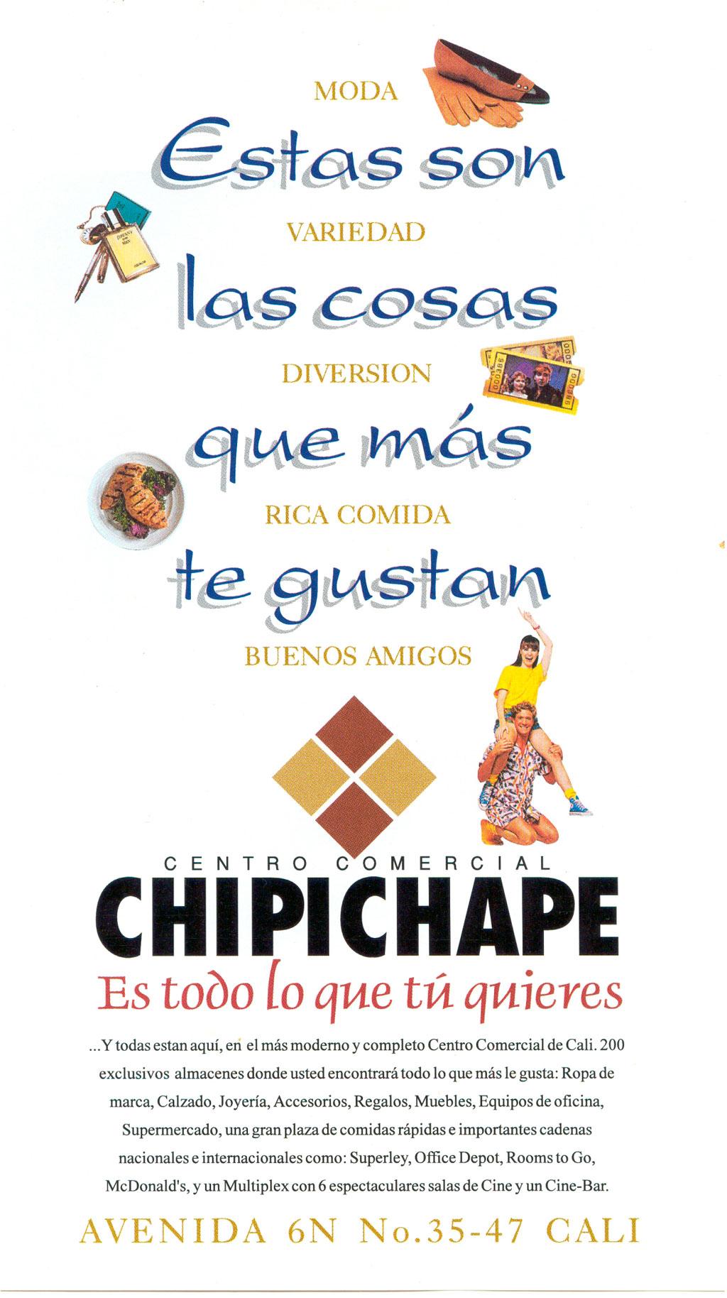Aviso de Prensa Centro ComChipichape