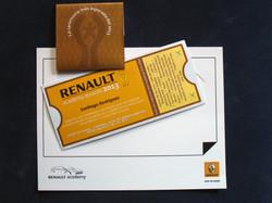 Invitación Renault Academy 2013