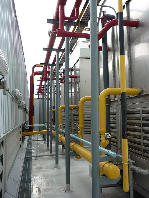 Ammonia plantroom