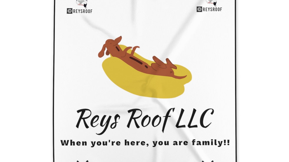 Reys Roof Polyester Blanket