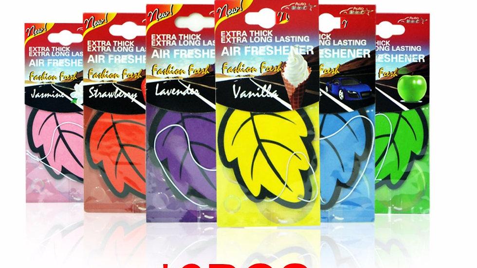 6 PCS/Lot Car Air Freshener Leaves