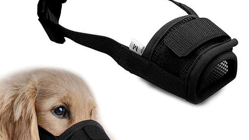 Anti Barking Dog Muzzle for Small Large Dogs Adjustable